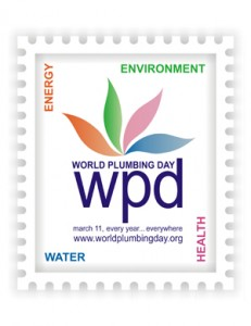 Logo du World Plumbing Day