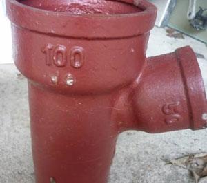 colonne d 39 vacuation eaux us es fuite d 39 eau d pannage entretien. Black Bedroom Furniture Sets. Home Design Ideas