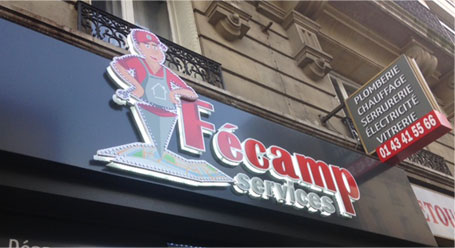 Magasin Fécamp Services Paris 12