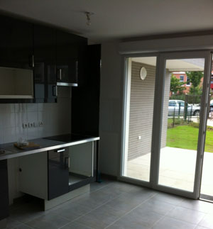 renovation d 39 appartement paris salle de bain cuisine wc. Black Bedroom Furniture Sets. Home Design Ideas