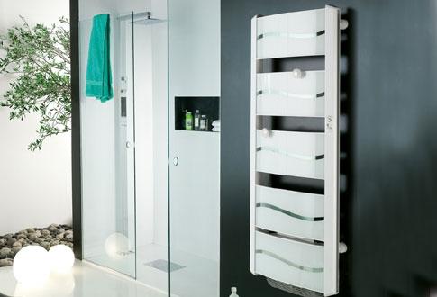 awesome radiateur electrique atlantic salle de bain contemporary ... - Chauffer Une Salle De Bain Avec Un Seche Serviette